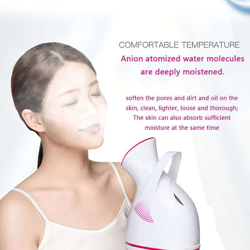 KONKA Nano Ionic Deep Cleaning Facial Steamer 110ml Hydrating Device Face Moisturizing Cleaning Home SPA Skin Care