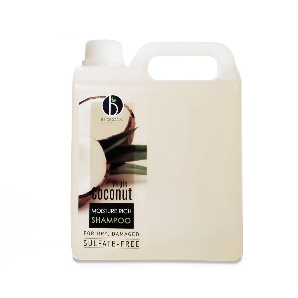 Be Organic Sulfate-free VCO Shampoo 1000ML Refill Moisture Boost For Dry & Damaged Hair