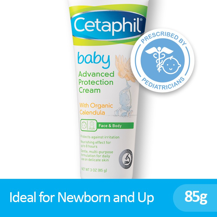 Cetaphil Baby Advanced Protection Cream 85g [Hypoallergenic and Fragrance-Free]