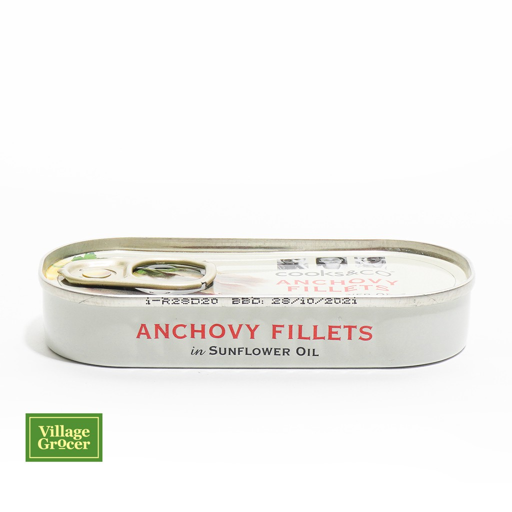 Cooks&Co Anchovy Fillets in Sunflower Oil 50g