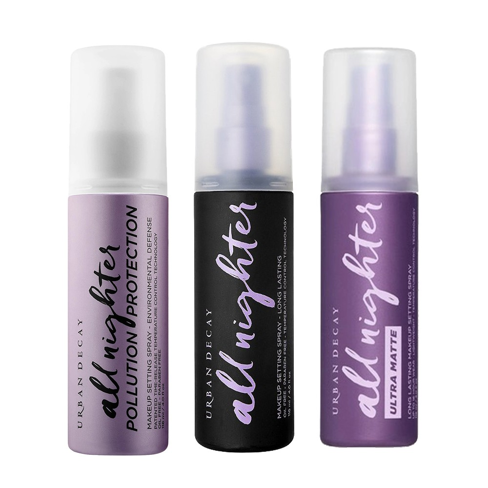 Urban Decay All Nighter - Long-Lasting / Long-Lasting Ultra Matte / Pollution Protection Makeup Setting Spray 118ml