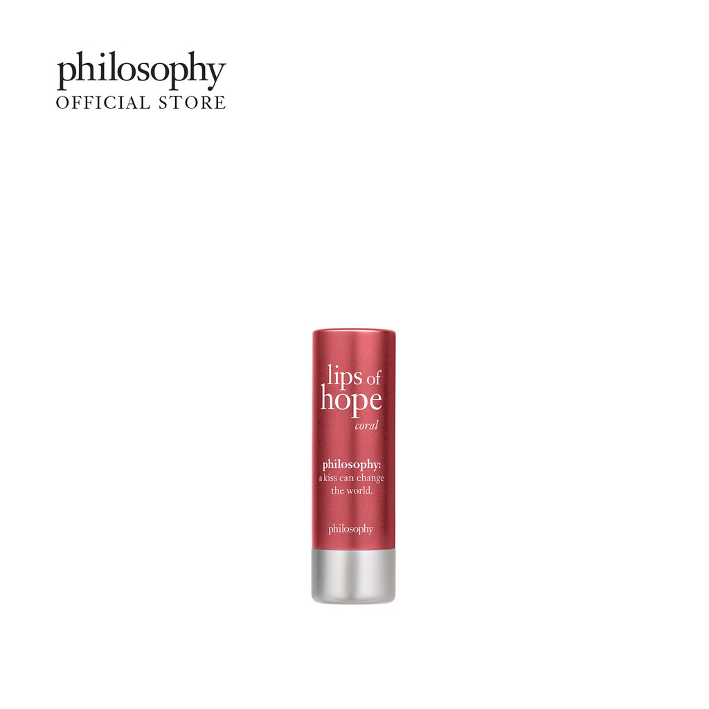 Philosophy Lips Of Hope Tinted Lip Balm 4.1ml Coral