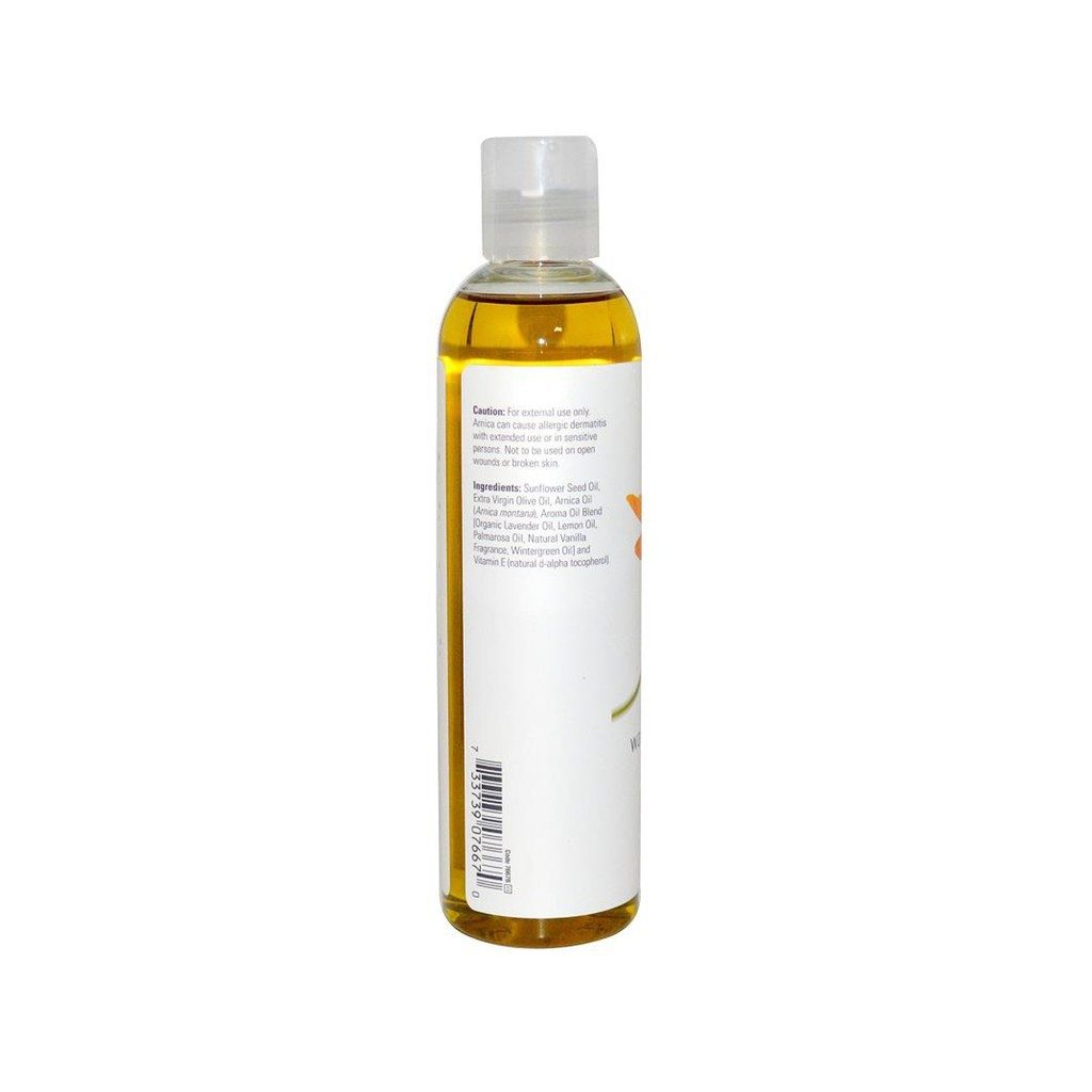 NOW Solutions, Arnica Soothing Massage Oil 8 fl oz 237 ml
