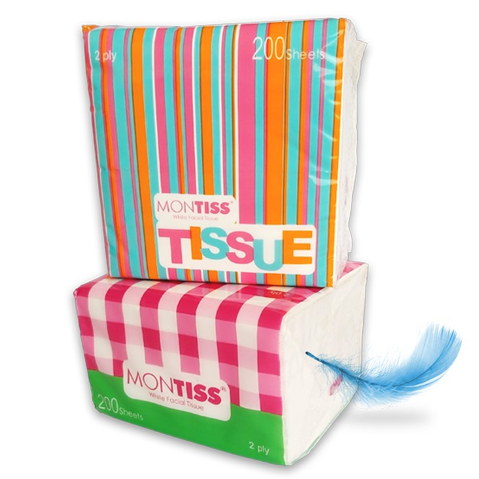 Montiss Compact Interfold Tissue 200 Sheets 2 in 1