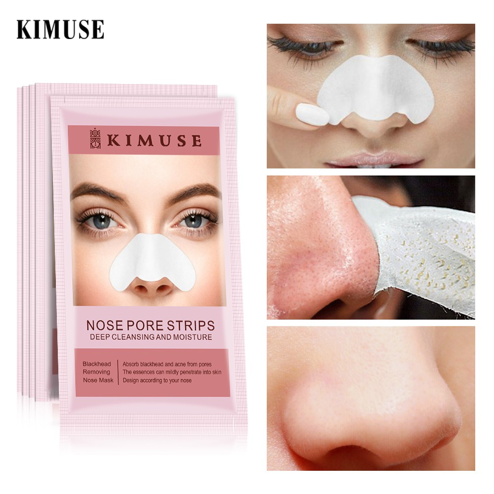 KIMUSE Nose Pore Strips Deep Cleansing and Moisture1pcs