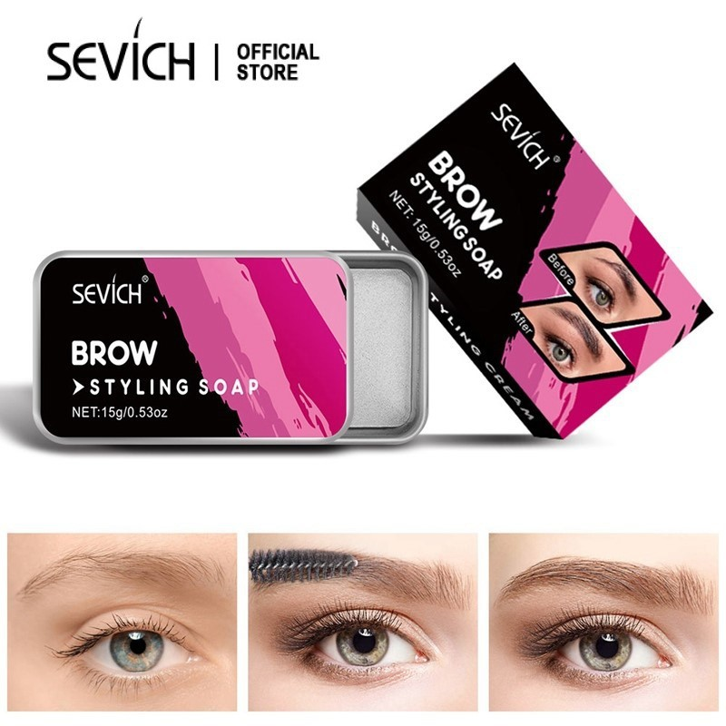 SEVICH Eyebrow Styling Gel Eye Makeup Brow Styling Soap