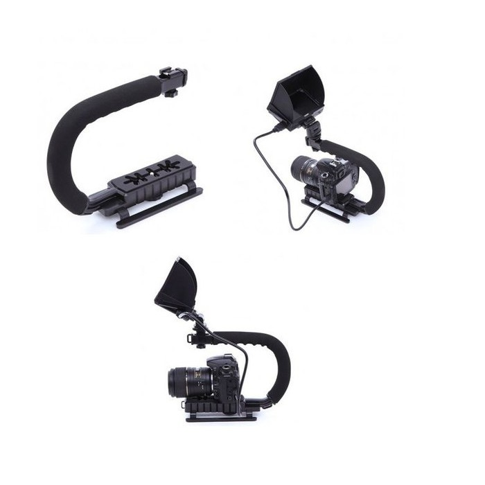 Stabilizer Kamera Grip Video Handle for DLRS and Action Camera