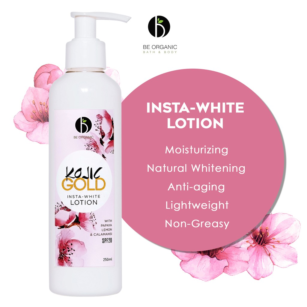 Kojic Gold Insta-White Lotion With Spf 20 250ml