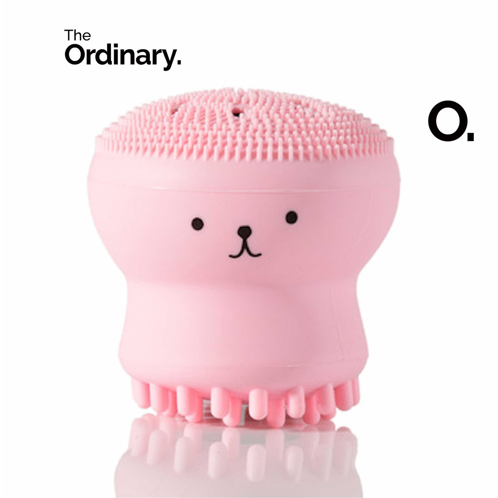The Ordinary Store Small Double Headed Octopus Face Cleansing Brush
