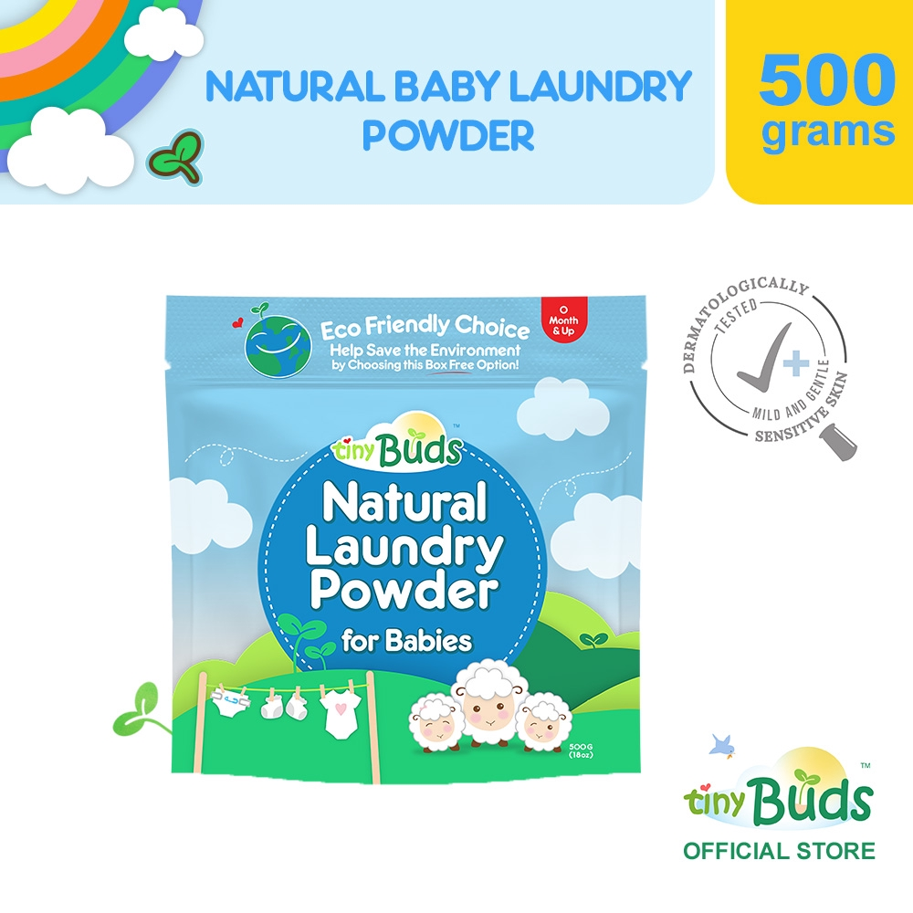 Tiny Buds Natural Laundry Powder for Babies (500G)