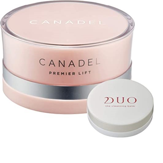 CANADEL PREMIER LIFT All-In-One Cream and DUO The Cleansing Balm mini set 58g +20g