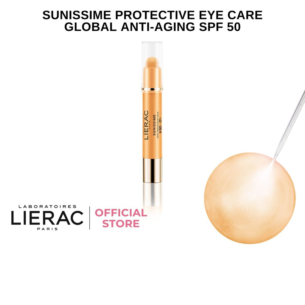 Lierac Sunissime Protective Eye Care Global Anti-Aging SPF50 3g
