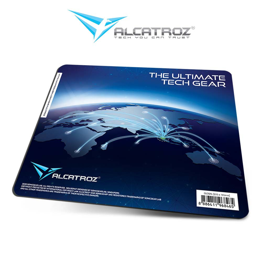 Alcatroz Limited Edition In-House Design High Non-Slip Base Gaming Mouse Pad | Murah & Berkualitas