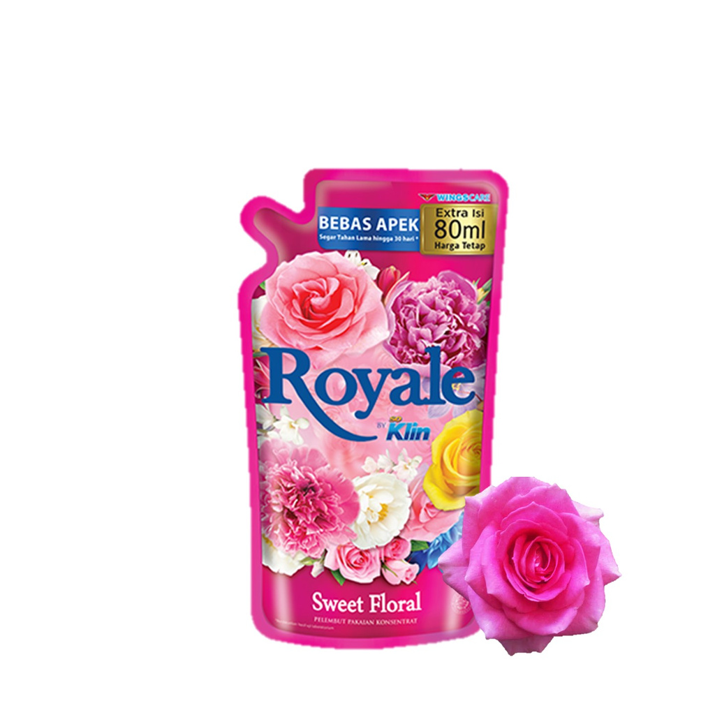 Royale Sweet Floral Pouch 800 mL