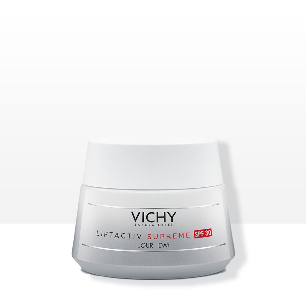 Vichy LiftActiv Supreme SPF30 50ml | Anti-Wrinkle Day Cream with Hyaluronic Acid, Niacinamide & Rhamnose for Aging Skin