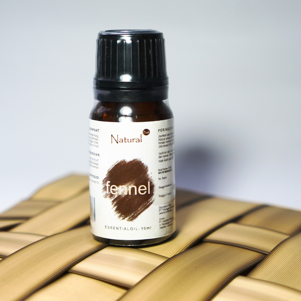 Natural - Essential Oil Fennel 10 ml | Minyak aromaterapi | Aromatherapy diffuser