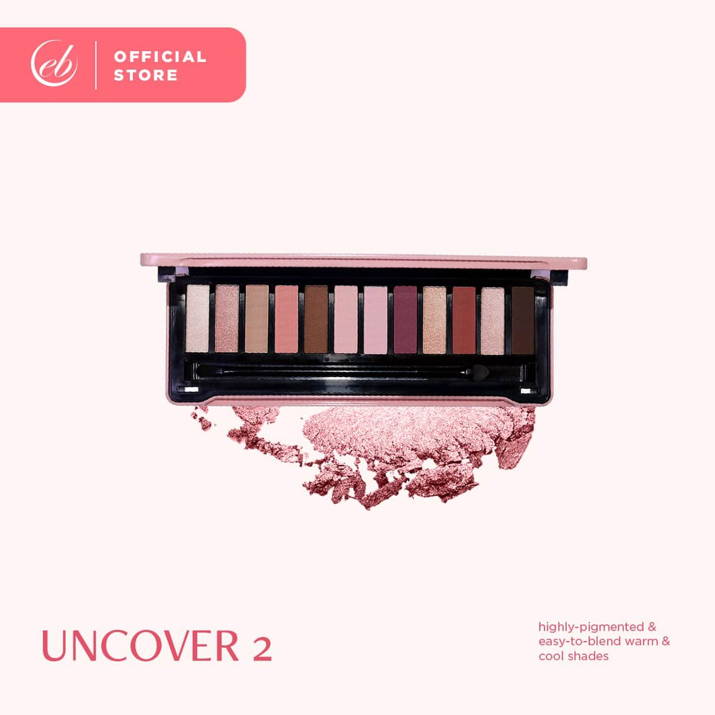 Ever Bilena Advance Uncover 12 Color Eyeshadow Palette