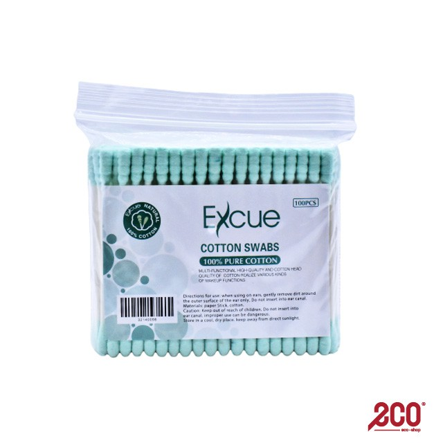 Excue Cotton Buds 2 in 1 - 0979