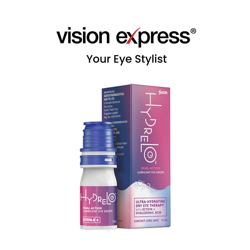 Hydrelo™ Dual Action Lubricant Eye Drops