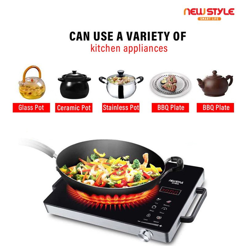 Newstyle Kompor induksi Z05 Electric Stove Electric Ceramic Heaters Induction Cooker