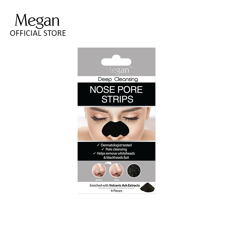 Megan Nose Pore Strips - Volcanic Ash Extract