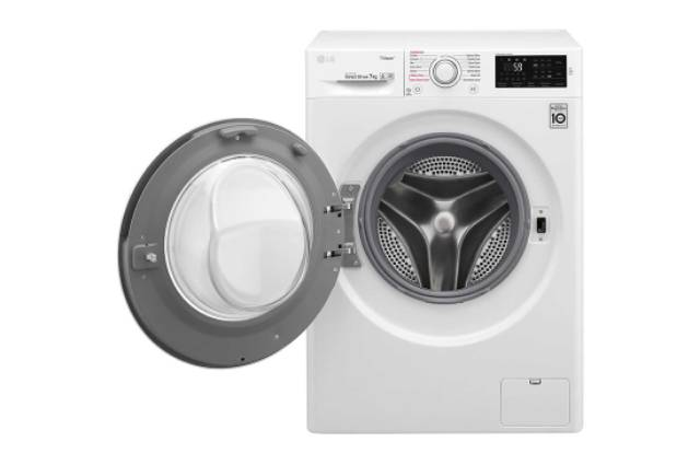 LG FC1207S5W Mesin Cuci Front Load 7Kg