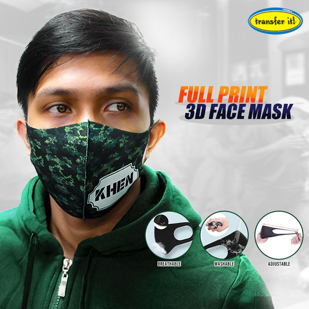 Korean Plain Face Mask Anti-dust Protection Personalized Washable Promotional Giveaway