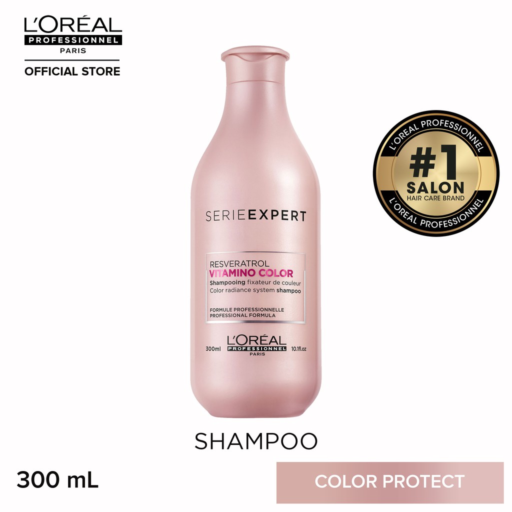 L'Oreal Serie Expert Vitamino Color Shampoo for Colored Hair 300mL