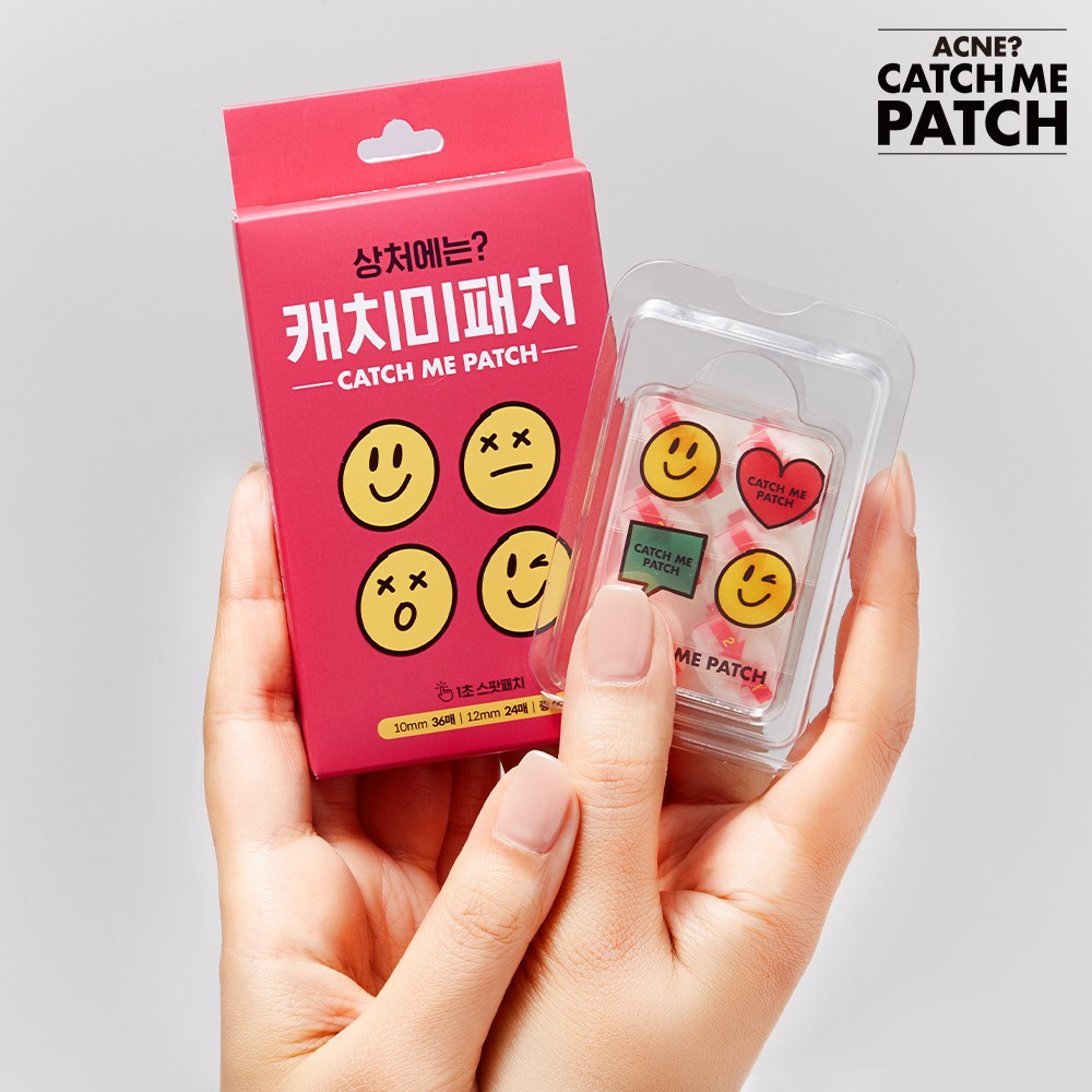CATCH ME PATCH One Touch Pimple Patch 48 Spot Patches