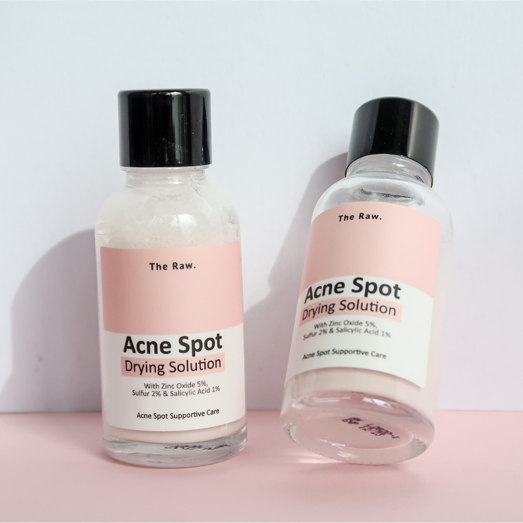 The Raw. Acne Spot Drying Solution 30ml
