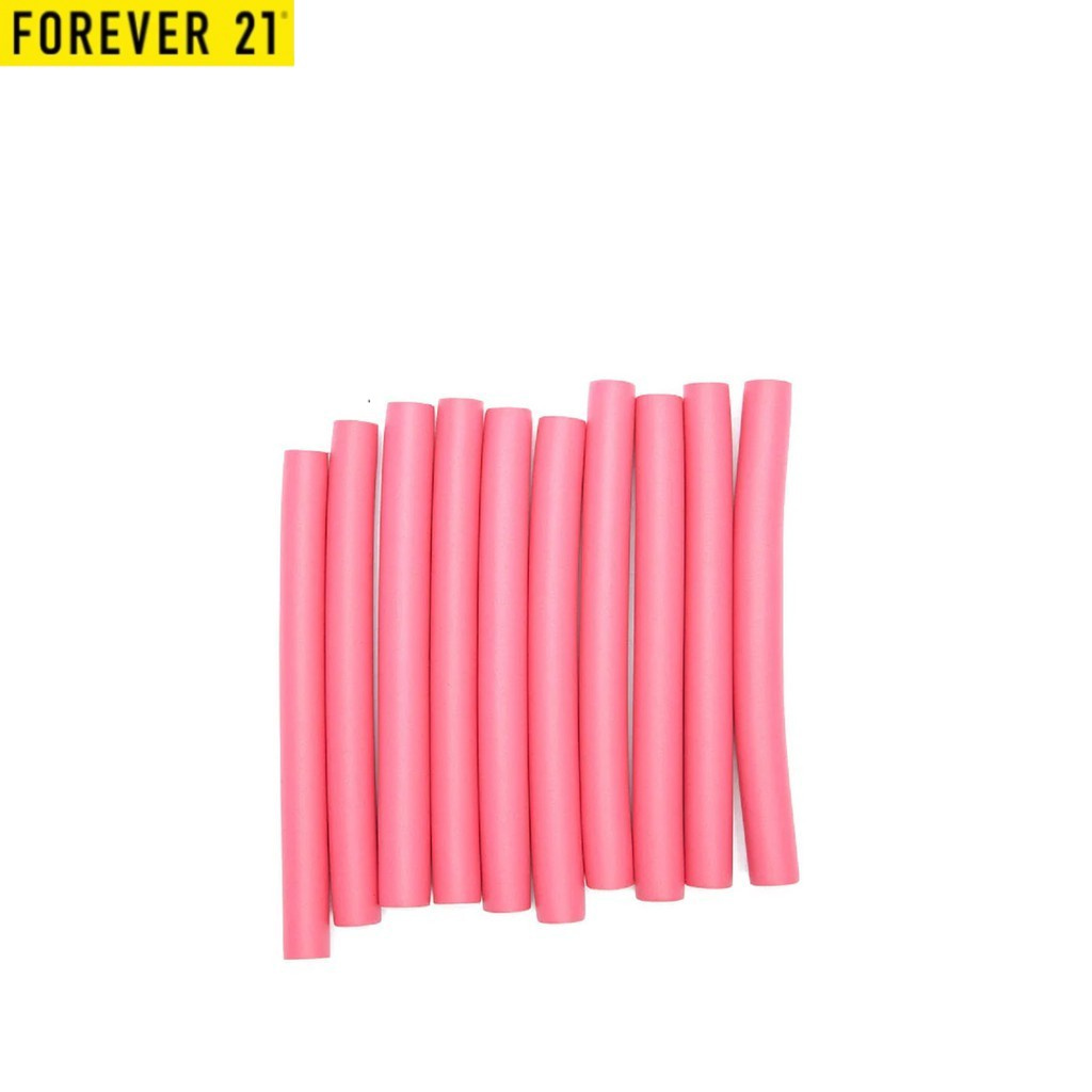 Forever 21 Women's Sticky Hair Curlers Set