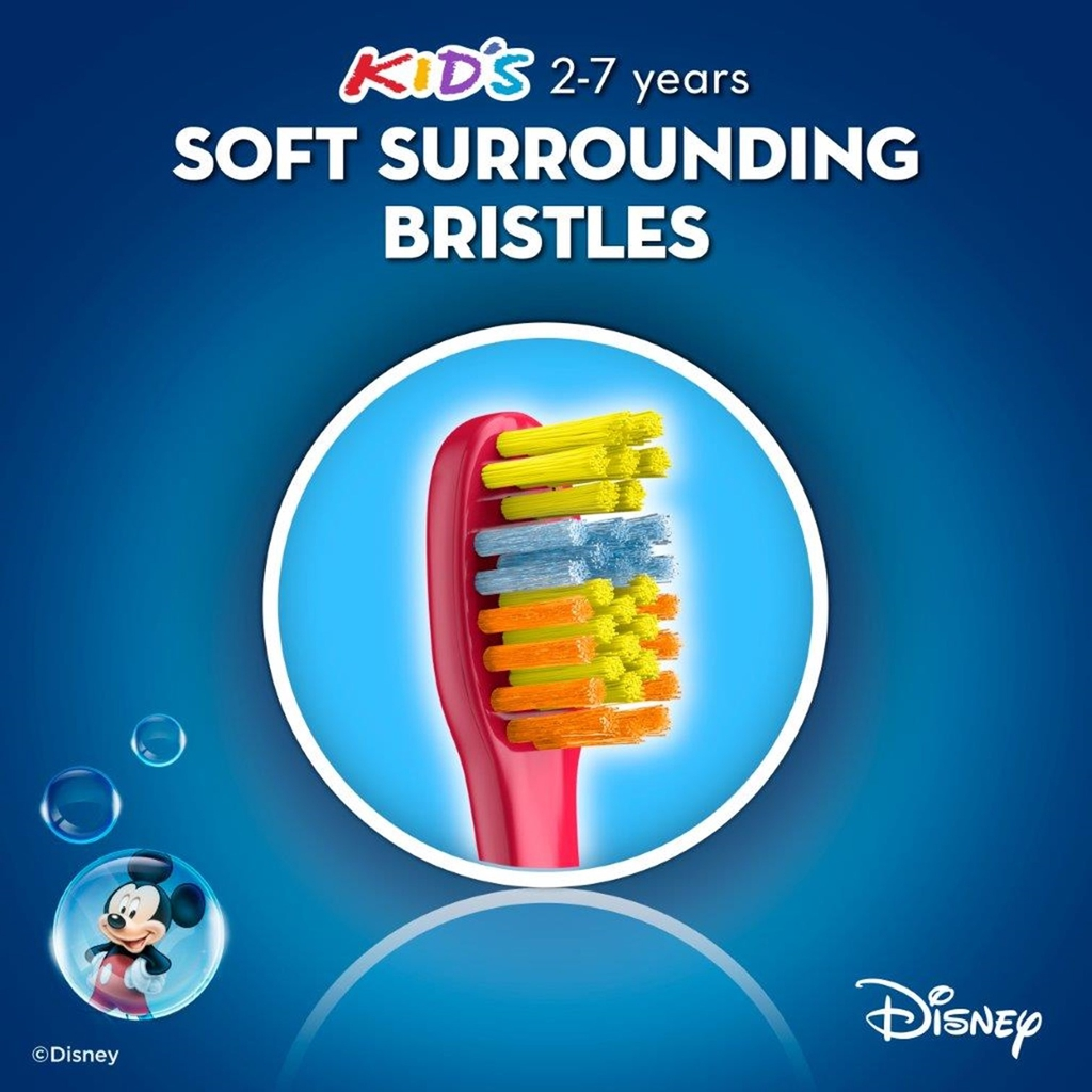 Oral-B Mickey for Kids 2-7 years Old Toothbrush 1s Blister