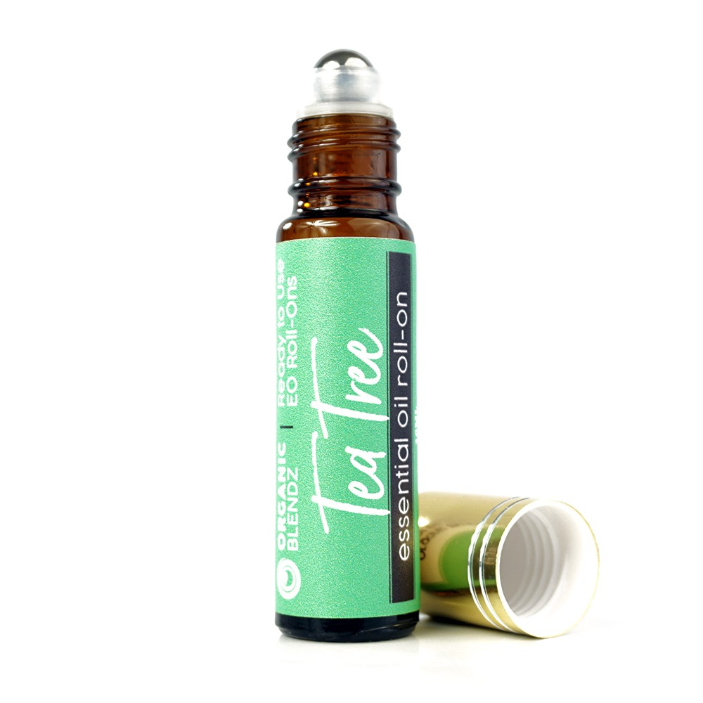 Tea Tree Essential Oil Roll On - Ready to Use! 100% Pure, Therapeutic Grade Essential Oil