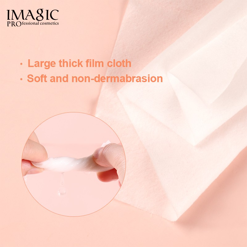 IMAGIC Makeup Remover Wipes Disposable Deep Cleansing Face Gentle Portable