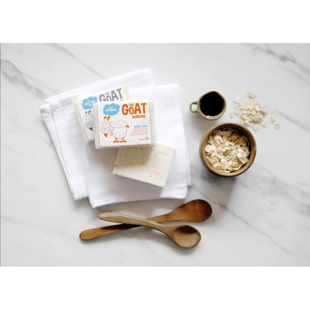 THE GOAT SKINCARE SOAP BAR WITH OATMEAL 100G,