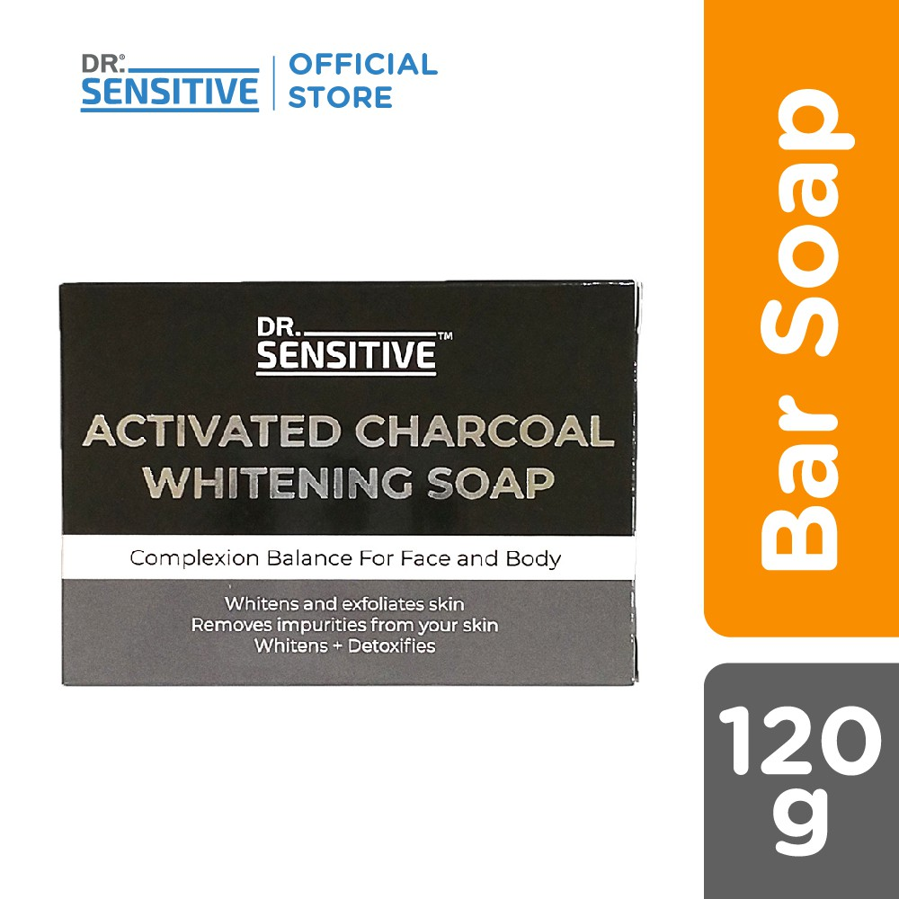 Dr. Sensitive Whitening Soap Activated Charcoal 120g