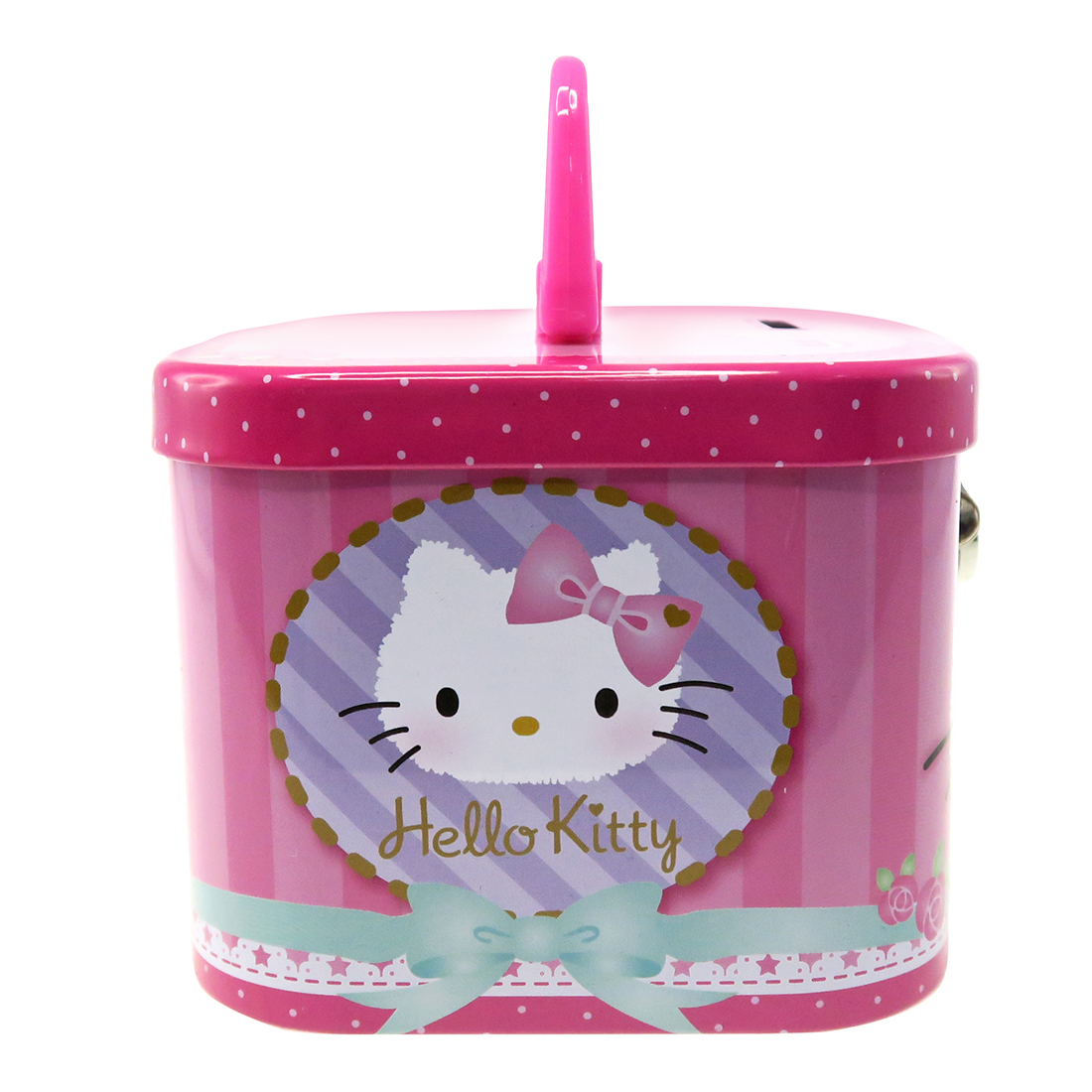 Hello Kitty Coin Bank With Lock