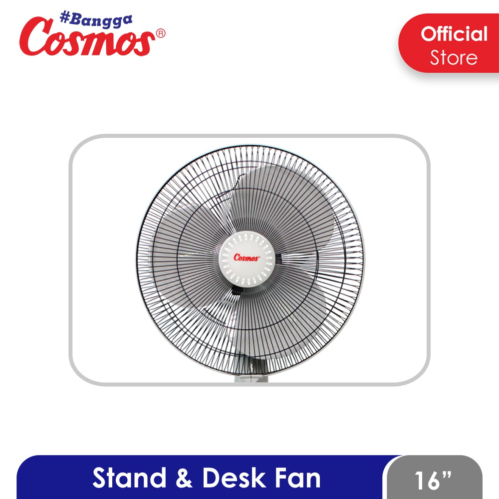 Cosmos Kipas Angin 2 in1 Stand & Desk 16-SN