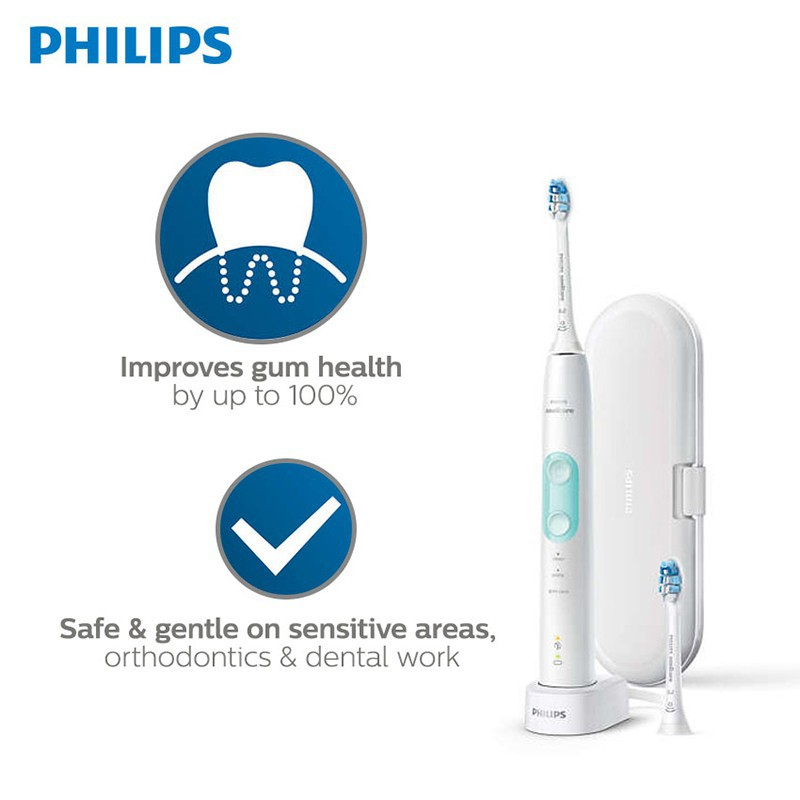Philips Sonicare Protectiveclean 5100 Sonic Electric Toothbrush - HX6857/30