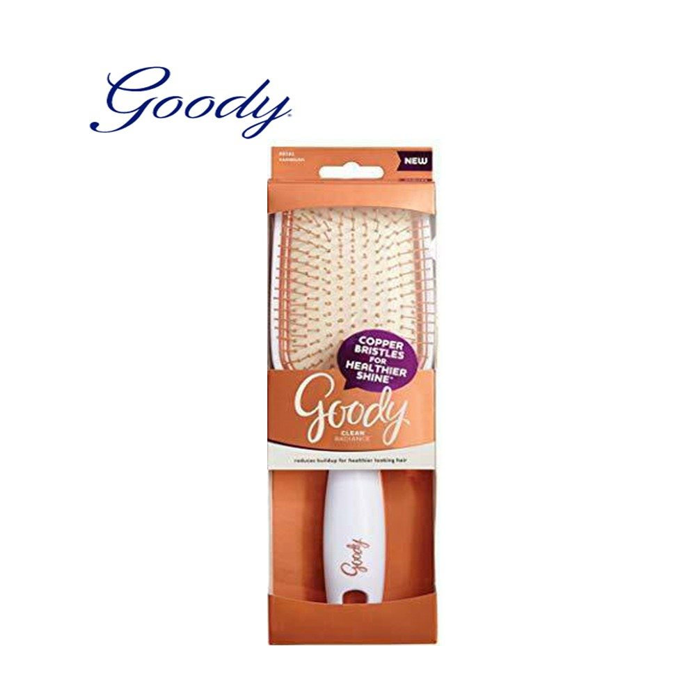 Goody Clean Radiance Paddle Brush Heads Up
