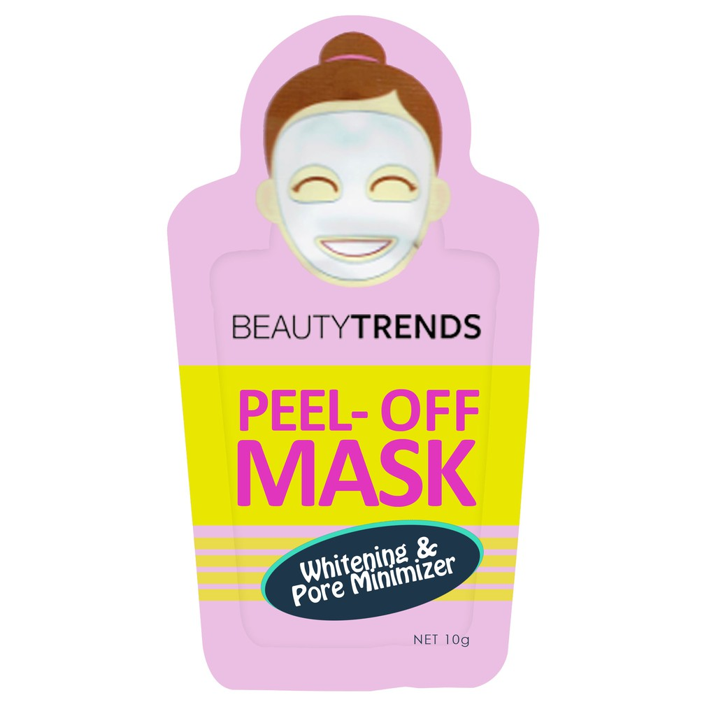 BEAUTYTRENDS Peel Off Mask Whitening and Pore Minimizer 10g