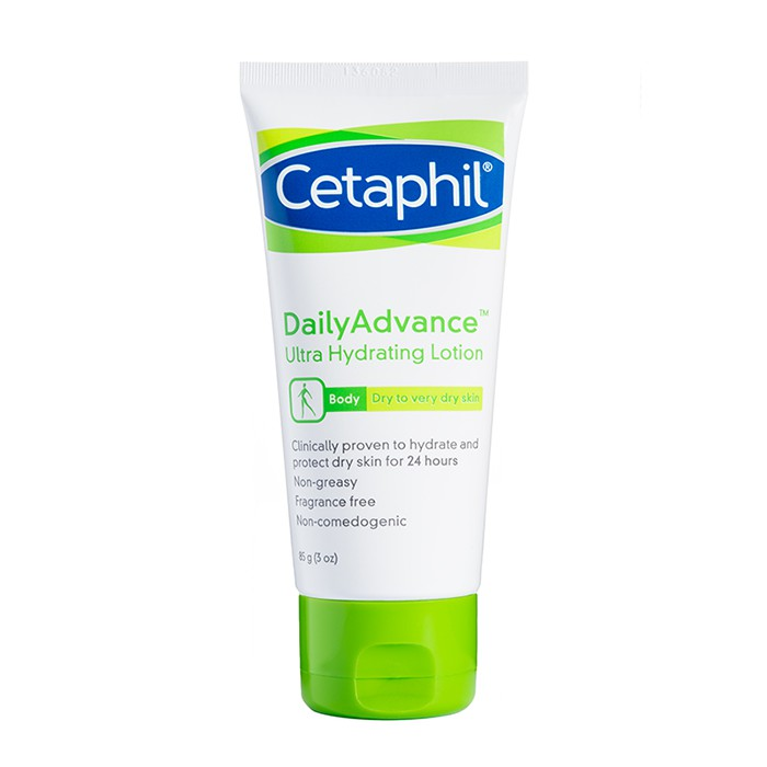 CETAPHIL DAILY ADVANCE ULTRA HYDRATING LOTION 85G/3OZ FOR VERY DRY SKIN