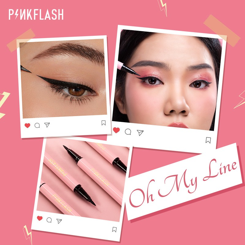 PINKFLASH OhMyLine Evenly Pigmented Eyeliner Long Lasting water-proof liner