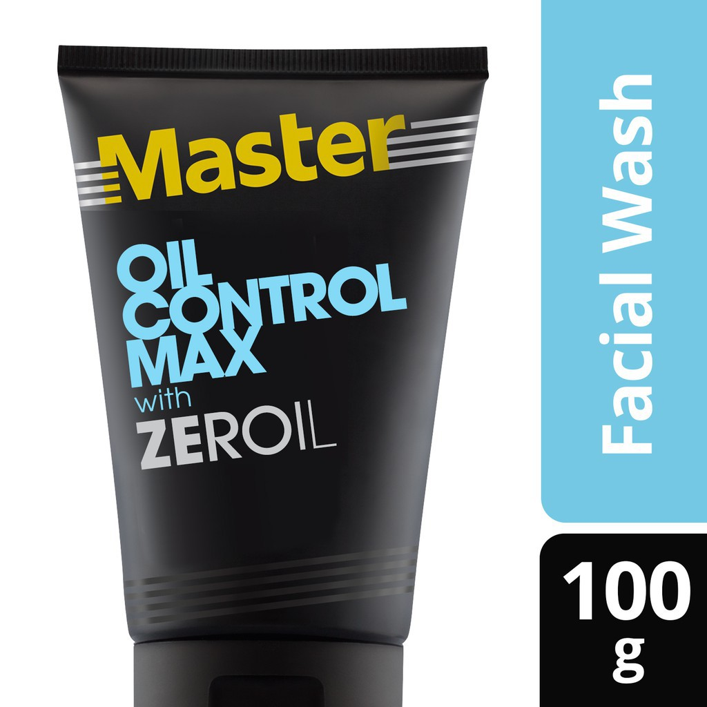 Master Facial Strub Oil Control Max 100g With Mineral Clay And Zeroil