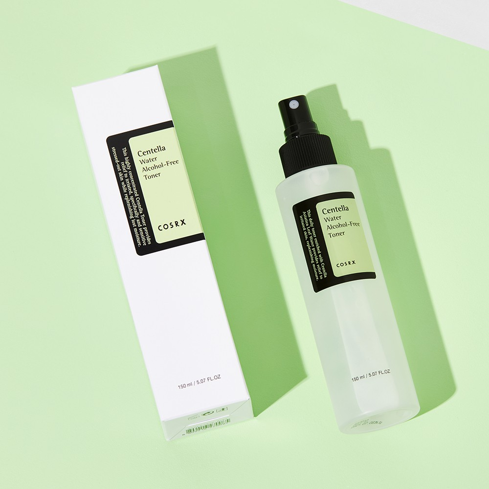 COSRX Centella Water Alcohol-Free Toner Soothes Sensitive & Acne 150ml
