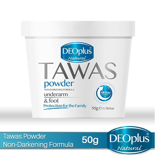 DeoPlus Tawas Powder for Underarm & Foot 50g