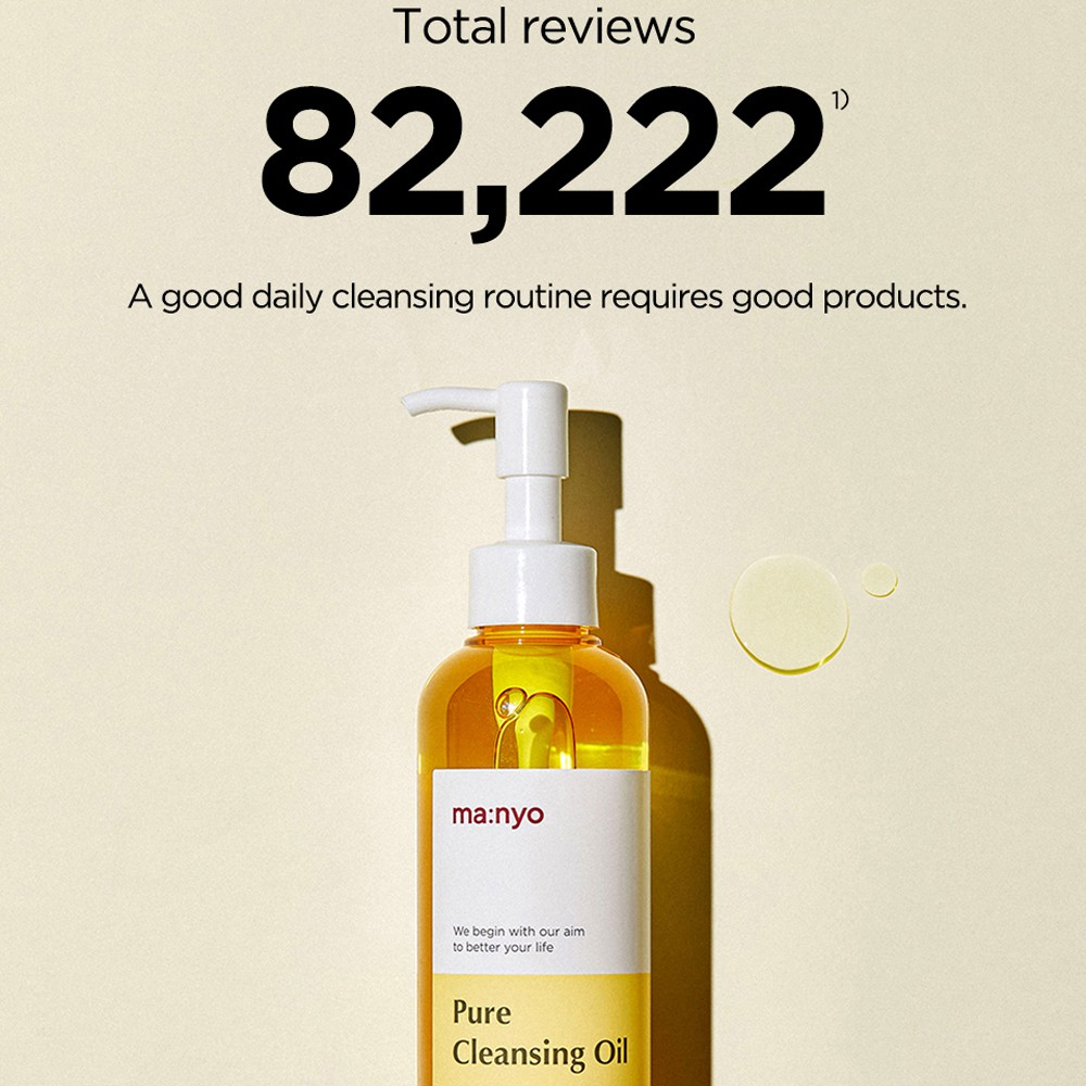 MANYO Bleak-head remover Pure Cleansing Oil 200ml/400ml