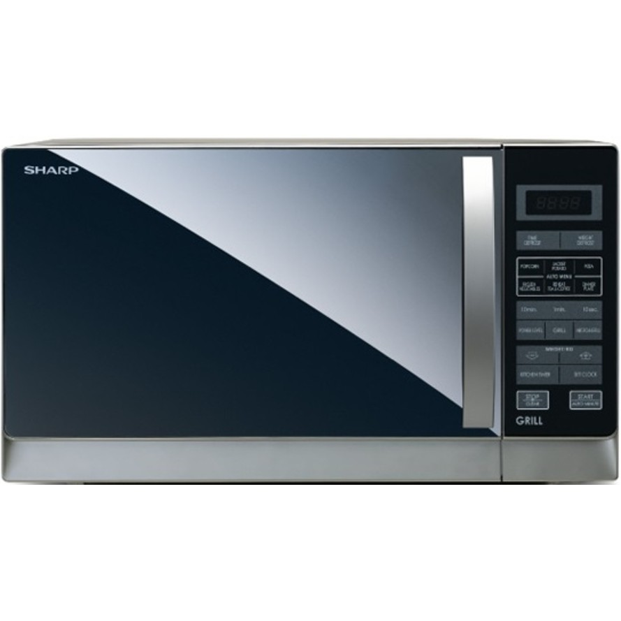Sharp 25L Silver Grill Microwave Oven