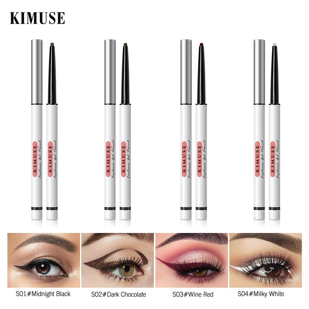 KIMUSE Eyeliner With 4 Optional Colors For Makeup 20g