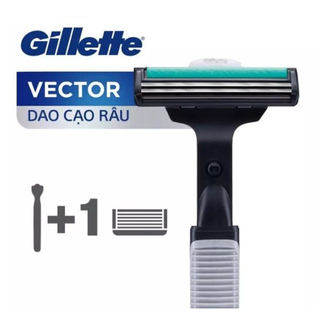 Dao Cạo Gillette Vector 1UP